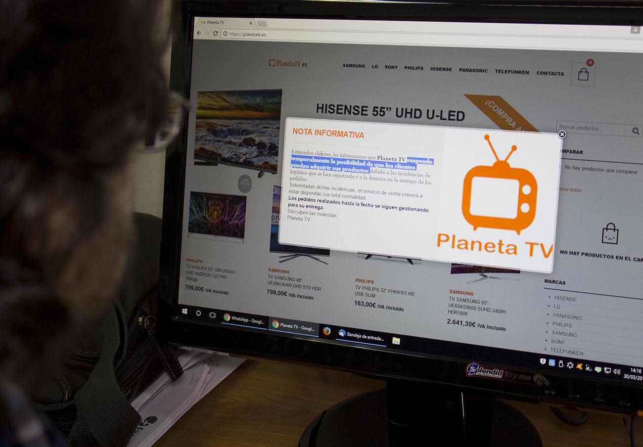 Un juez investiga una macroestafa de venta 'on line' de televisores con miles de afectados en España
