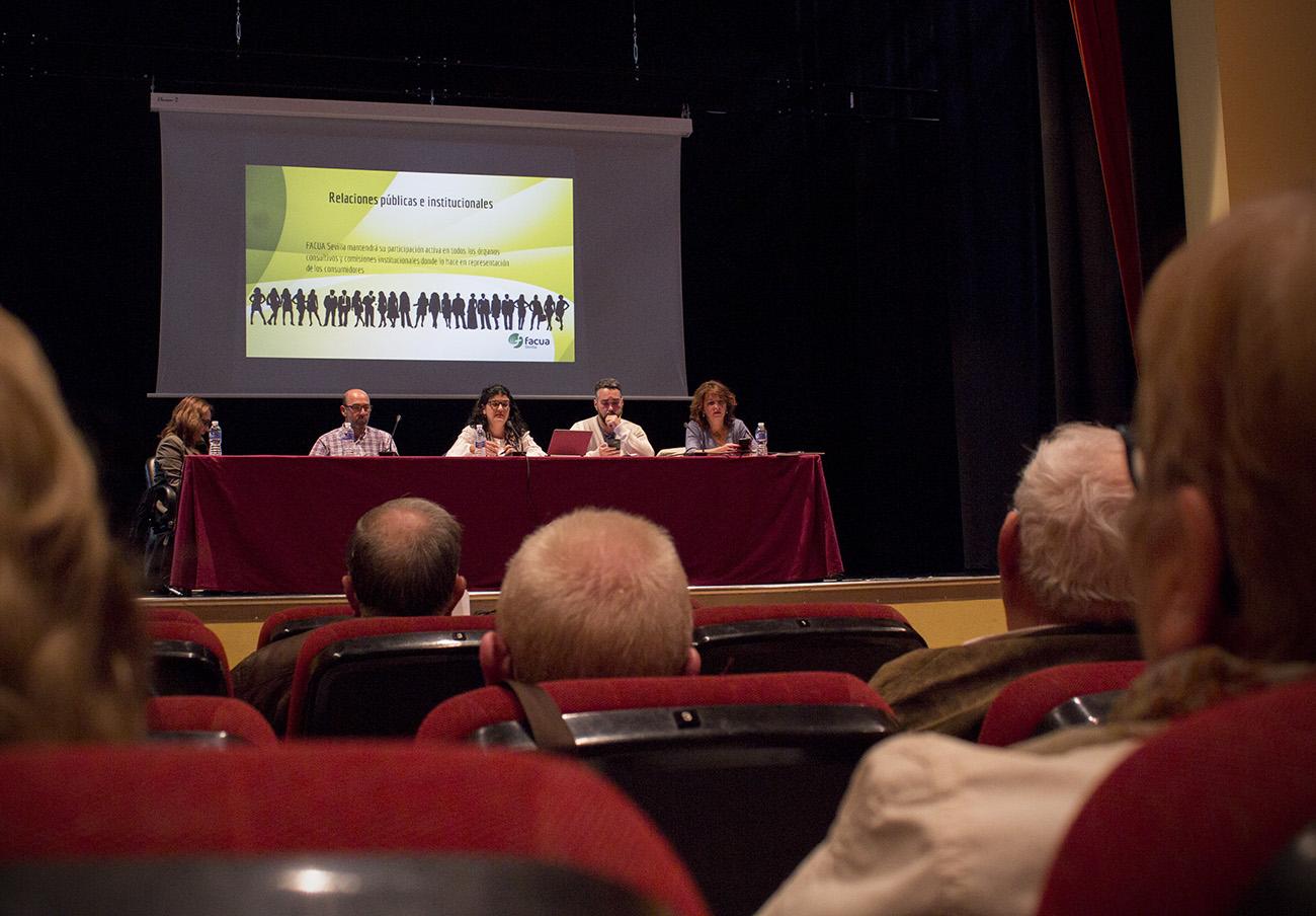 FACUA Sevilla celebra su Asamblea General de Socios