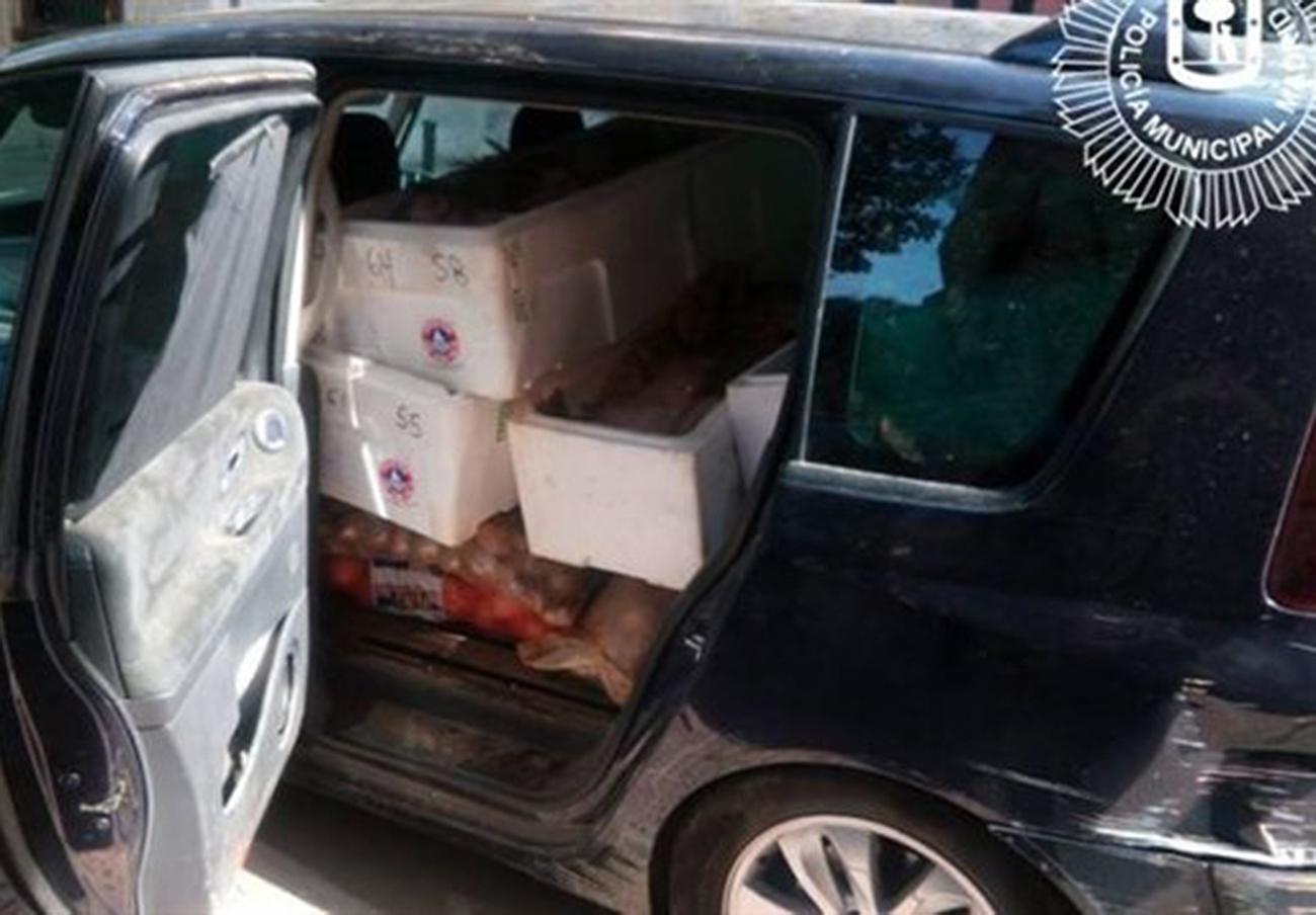 Intervenidos 2.200 kilos de alimentos en mal estado de un restaurante del barrio de Salamanca de Madrid
