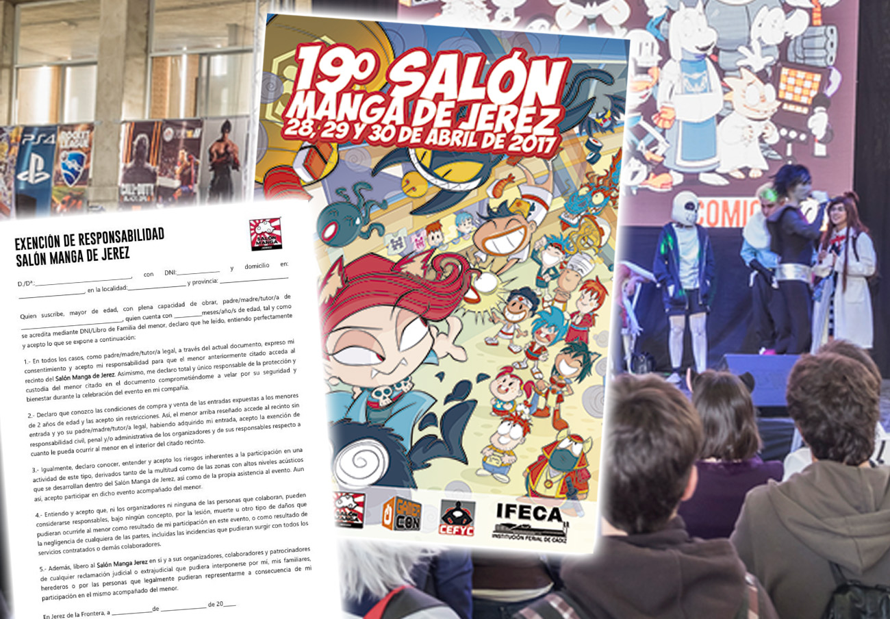 FACUA denuncia al Salón Manga de Jerez por no responsabilizarse de daños o perjuicios sufridos por bebés