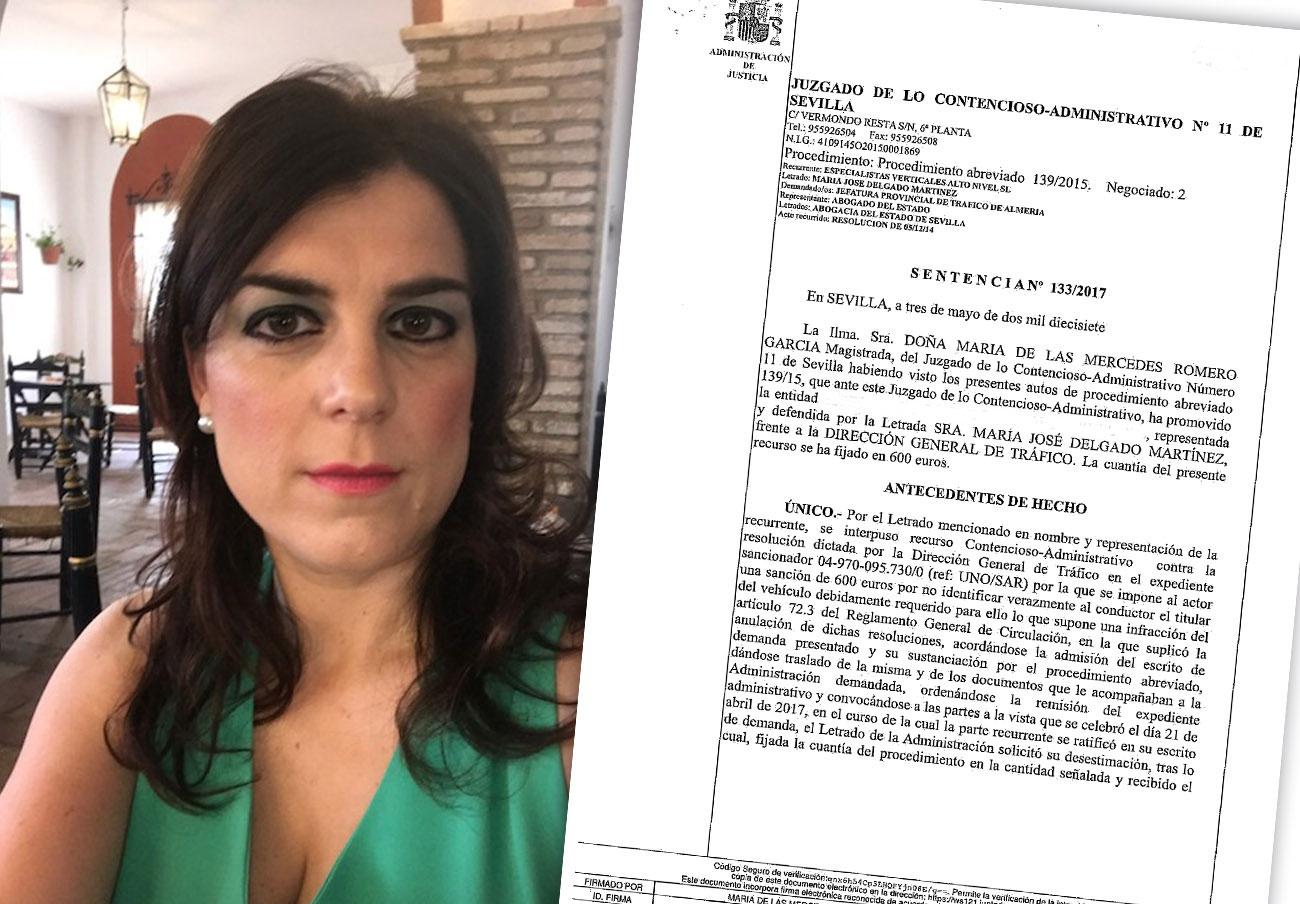 Un juez anula la multa a una socia de FACUA por saltarse un control en Almería mientras dormía en Sevilla