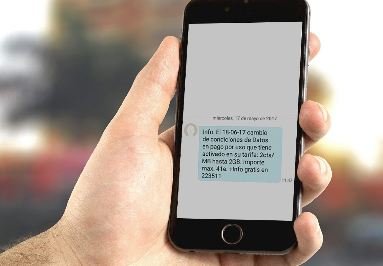 FACUA denuncia que la subida de tarifas de datos de Movistar es ilegal para los clientes con permanencia