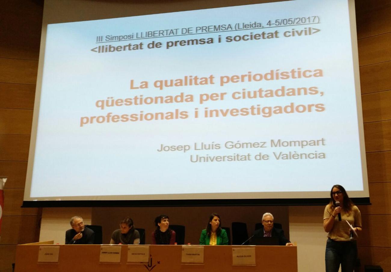 FACUA Catalunya participa en el III simposi sobre Llibertat de Premsa per parlar de mitjans i consum