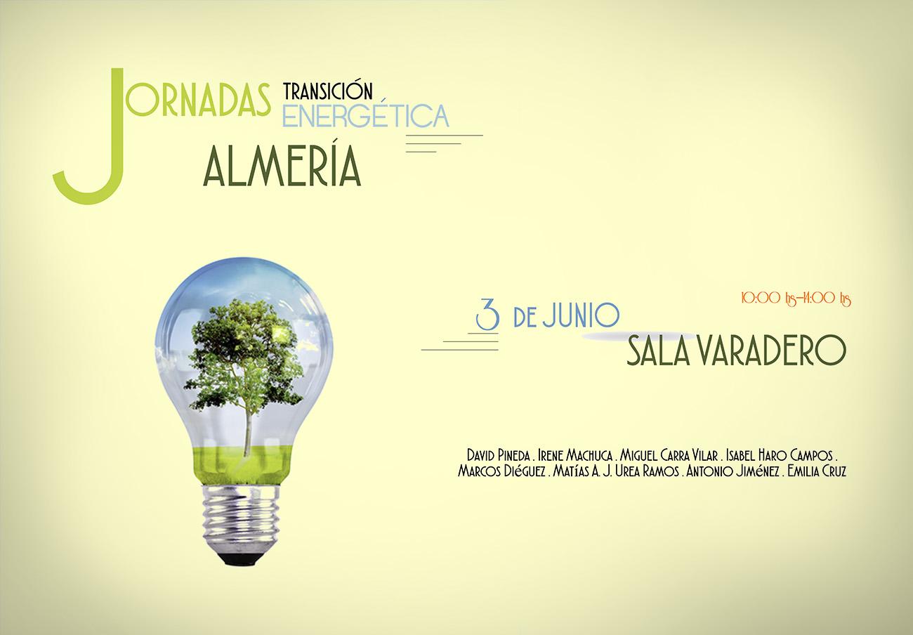 La presidenta de FACUA Almería, Isabel Haro, participa en las Jornadas Transición Energética de Almería