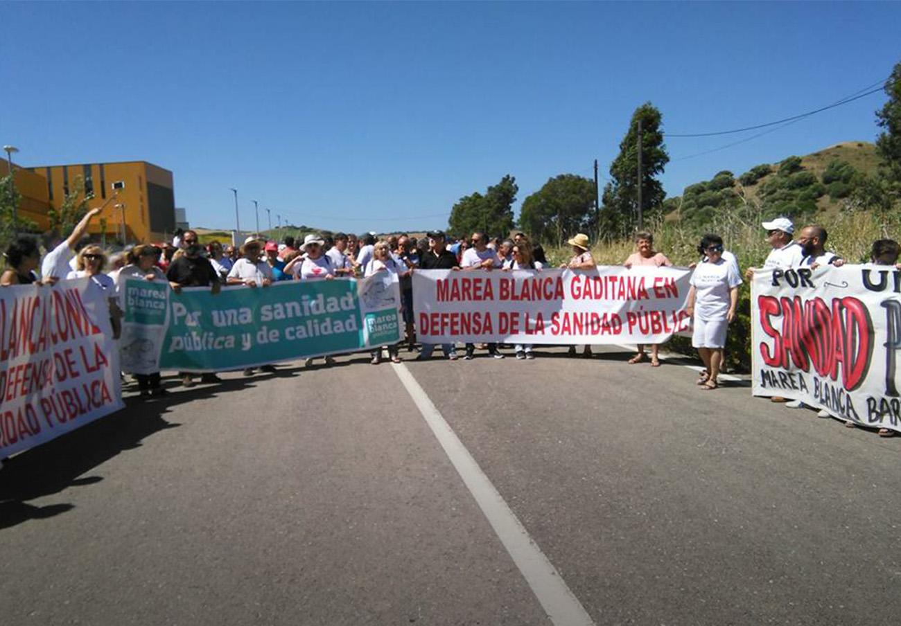 FACUA Cádiz anima a los usuarios a participar en la manifestación de Algeciras por la sanidad pública