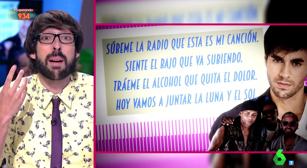 Captura del programa Zapeando de La Sexta.