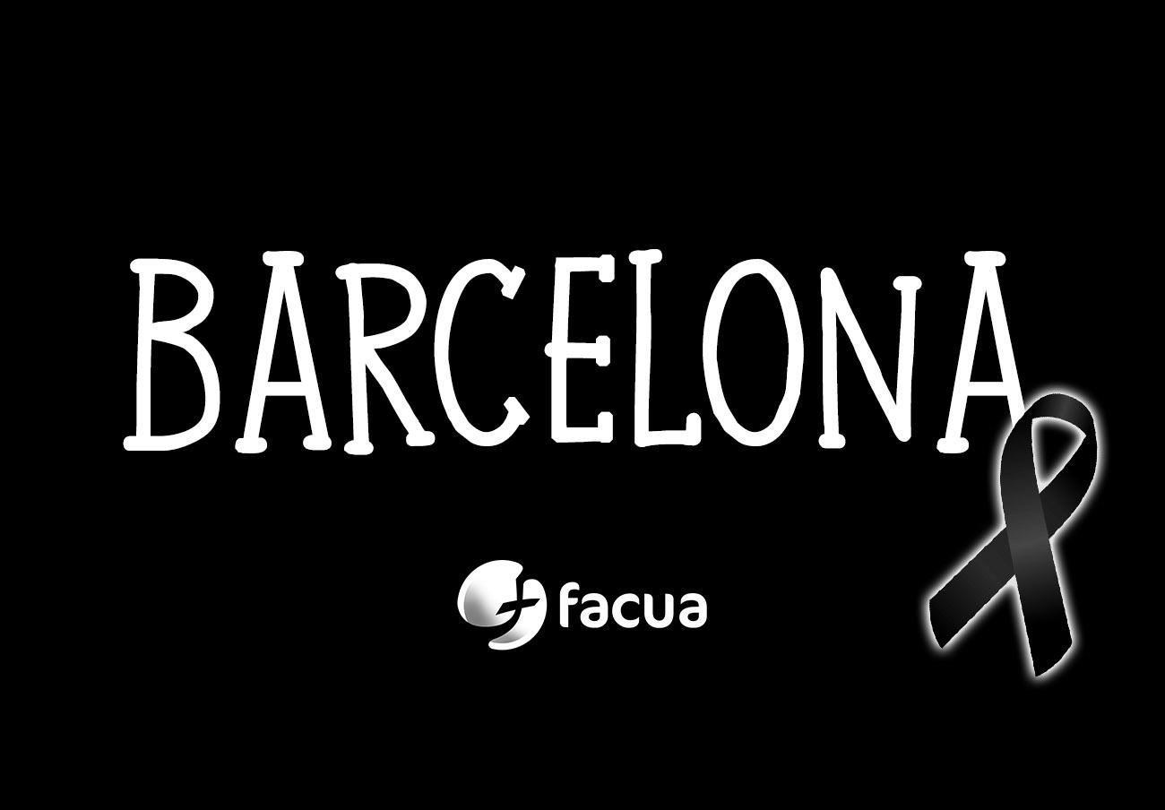FACUA condena los atentados en Barcelona y Cambrils y llama a participar en los actos de solidaridad