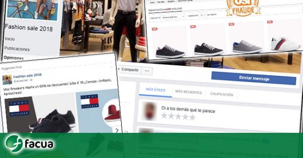 57e52dbe4b Alertan de publicaciones en Facebook con descuentos fraudulentos en marcas  de ropa y calzado