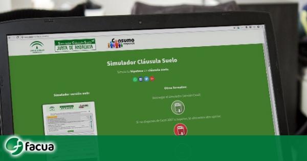 La junta corrige un fallo en su simulador de cl usula for Clausula suelo badajoz
