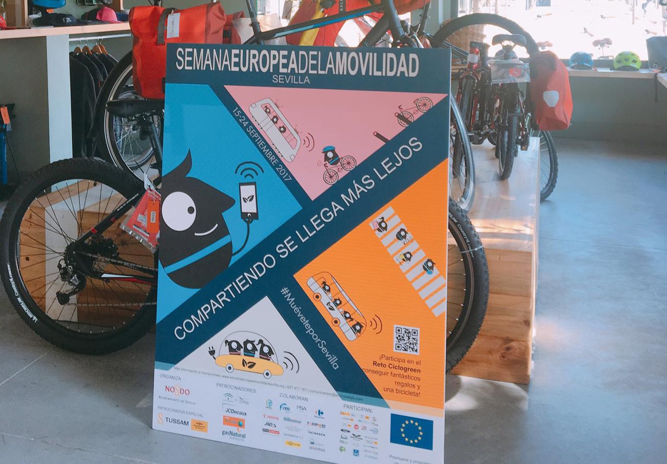 El Ayuntamiento de Sevilla emprende la Semana de la Movilidad sin contar con consumidores ni sindicatos