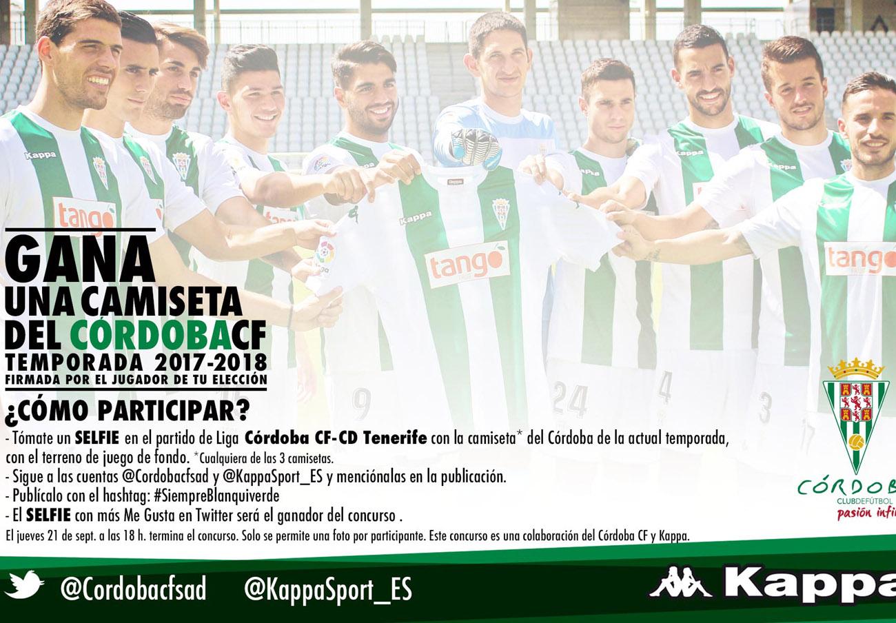 La camiseta fantasma del Córdoba CF: FACUA pide al club que informe del resultado de su concurso