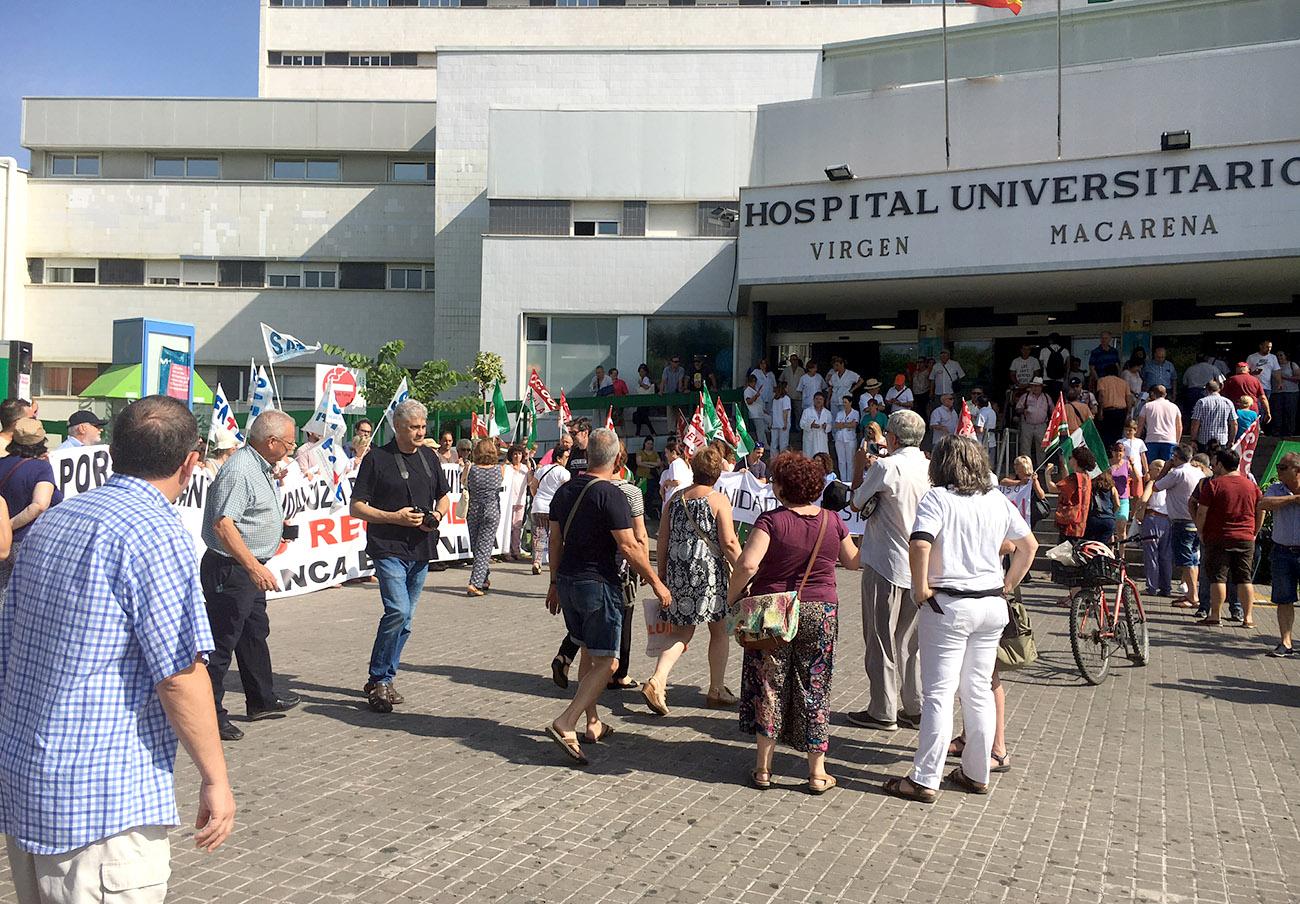 Marea Blanca en Sevilla se echa el sábado a la calle para denunciar la precariedad de la sanidad pública