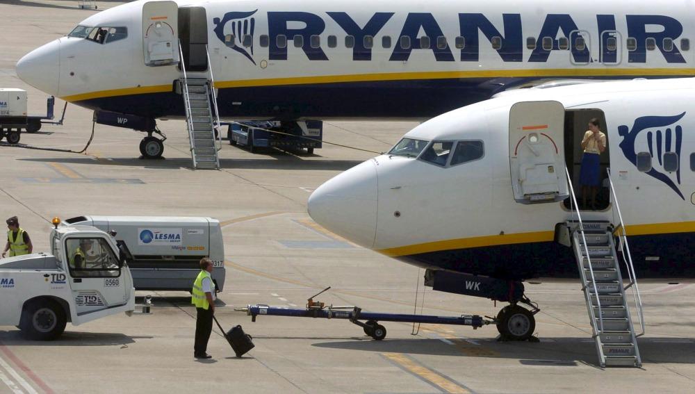 Ryanair anuncia más cancelaciones a partir de noviembre que afectarán a otros 400.000 pasajeros