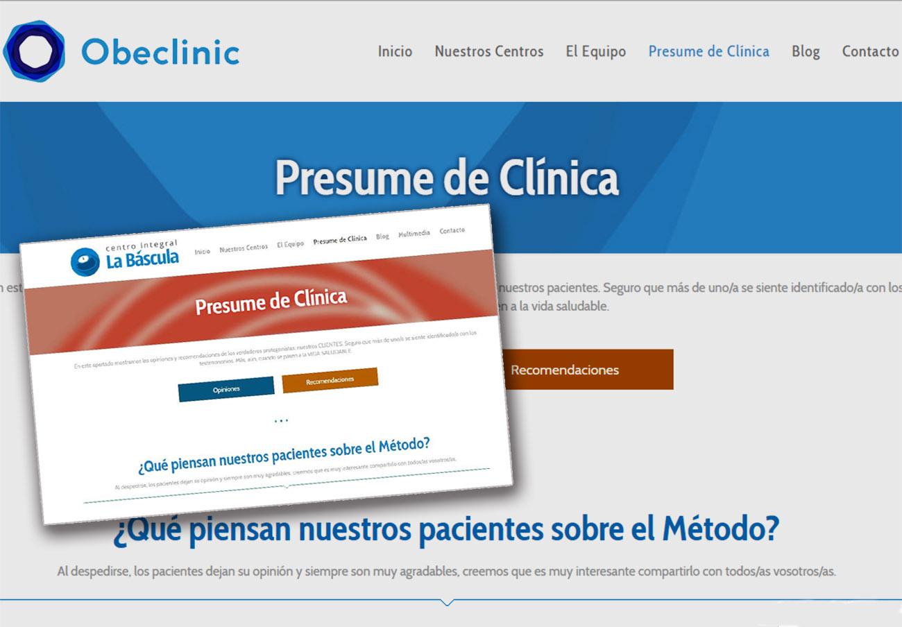 Tras la denuncia de FACUA, las clínicas de los ex directivos de Canal Sur dejan de llamarse La Báscula