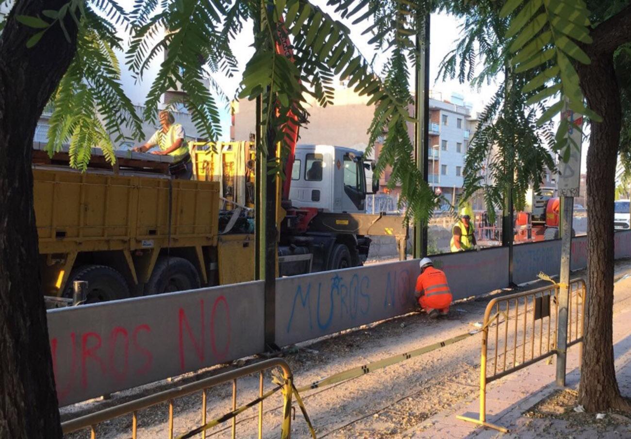 FACUA se suma a las reivindicaciones ciudadanas para soterrar las vías del AVE a su paso por Murcia