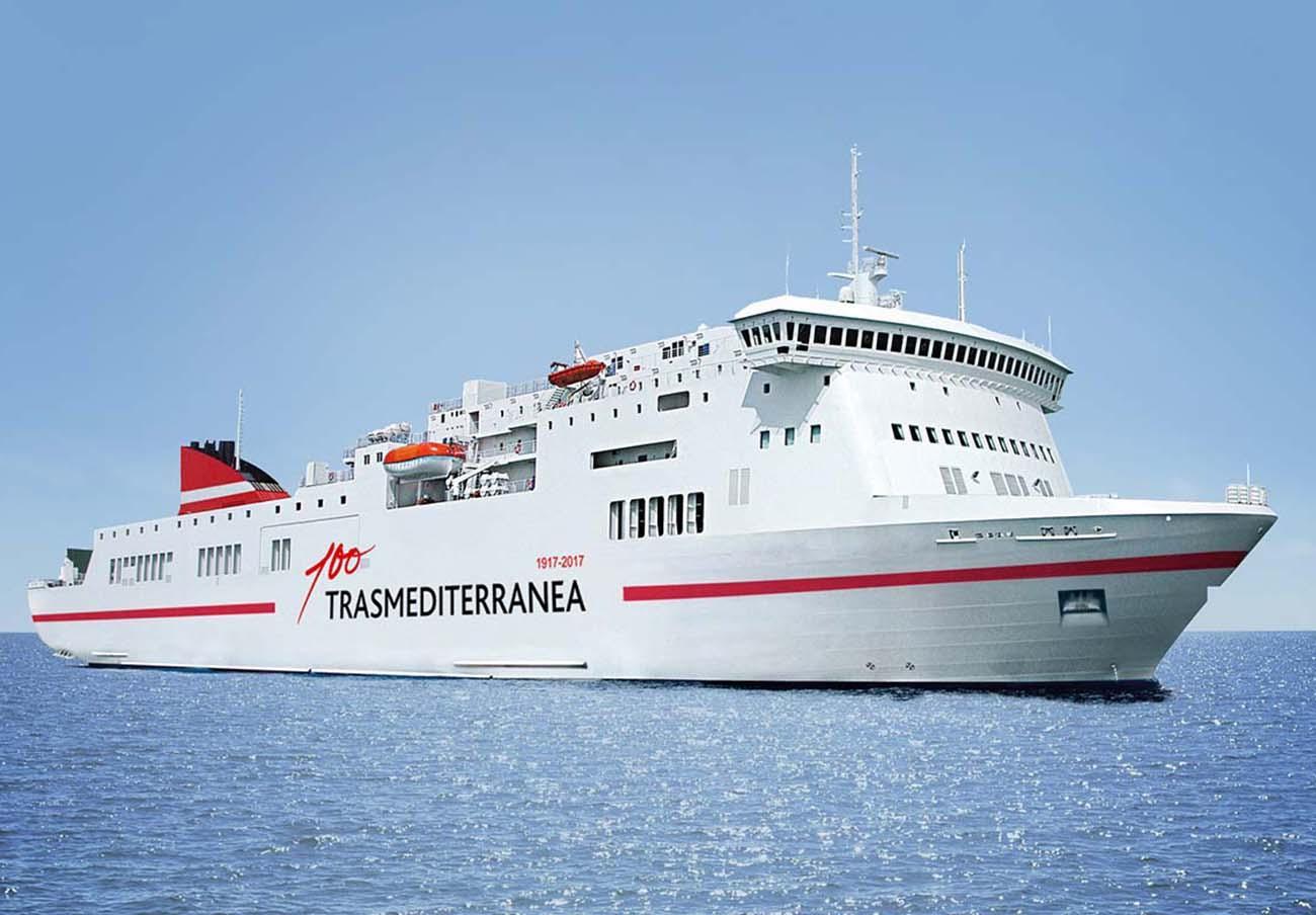 FACUA insta a los pasajeros atrapados en Cádiz por la avería de Transmediterránea a pedir compensaciones