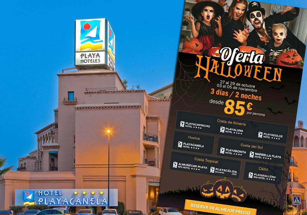 La cadena Playa Senator anuncia 'hoteles fantasma' en una oferta de Halloween: la mayoría están cerrados