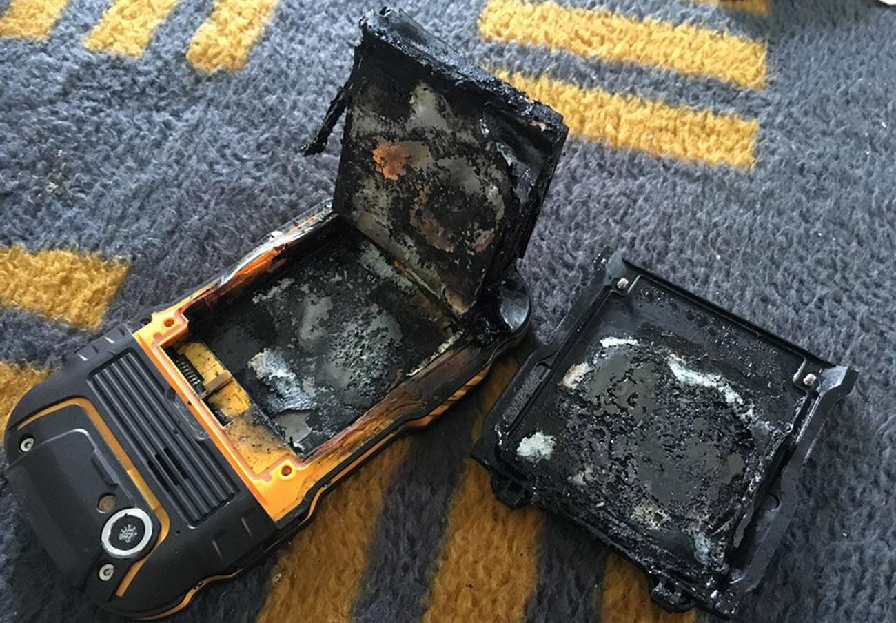 FACUA logra que una tienda le cambie a un socio un móvil de la marca andorrana Gorila que salió ardiendo