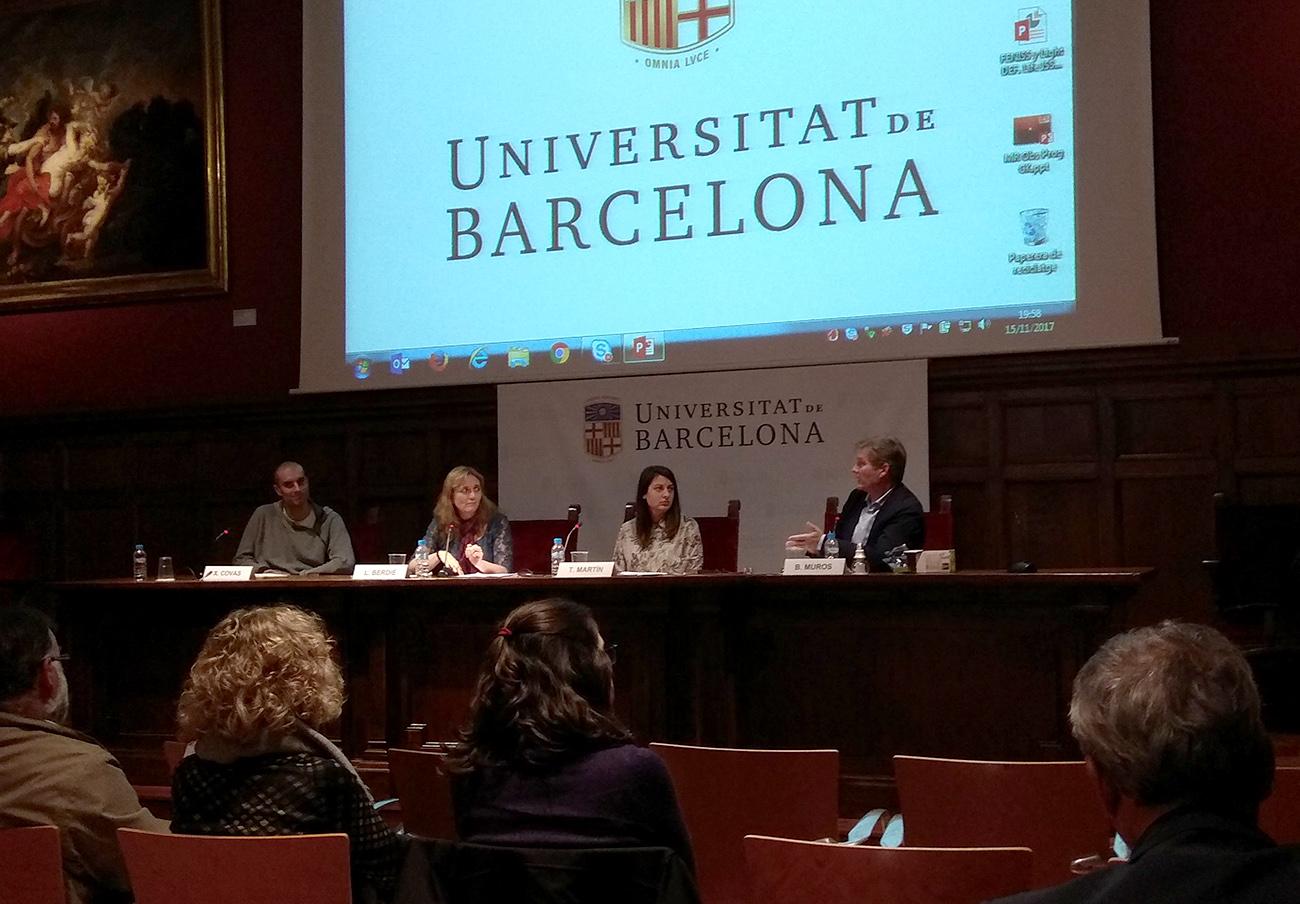 FACUA Catalunya participa en una mesa redonda sobre soberanía energética celebrada en Barcelona