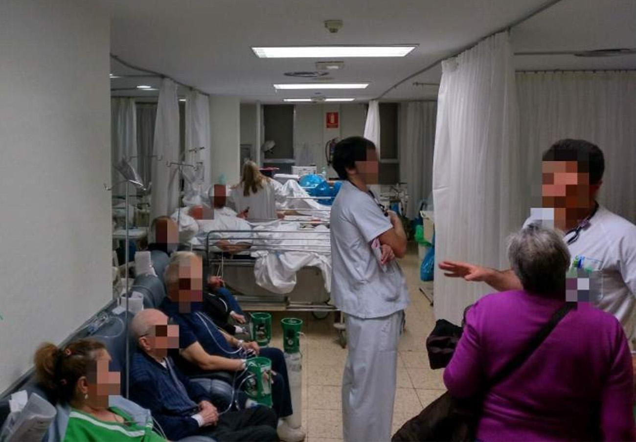 FACUA Madrid denuncia el colapso en el servicio de urgencias en el hospital La Paz de la capital