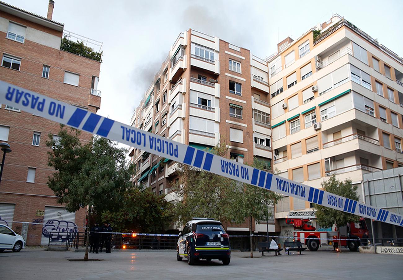 FACUA Granada exige seriedad y celeridad a las aseguradoras ante el incendio de San Juan de Letrán