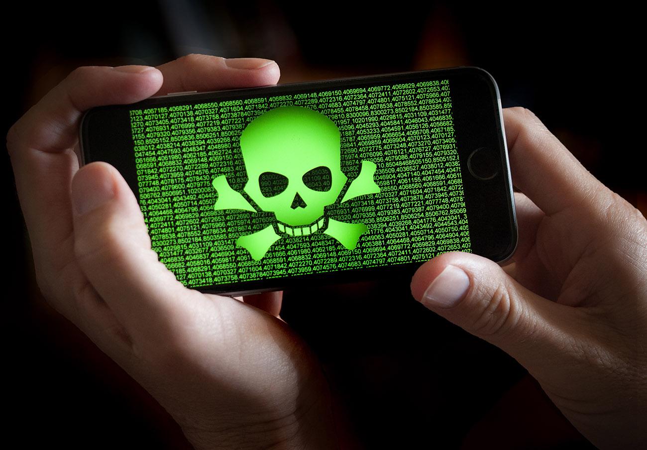 Detectado un virus capaz de realizar numerosas actividades maliciosas e incluso destruir el teléfono