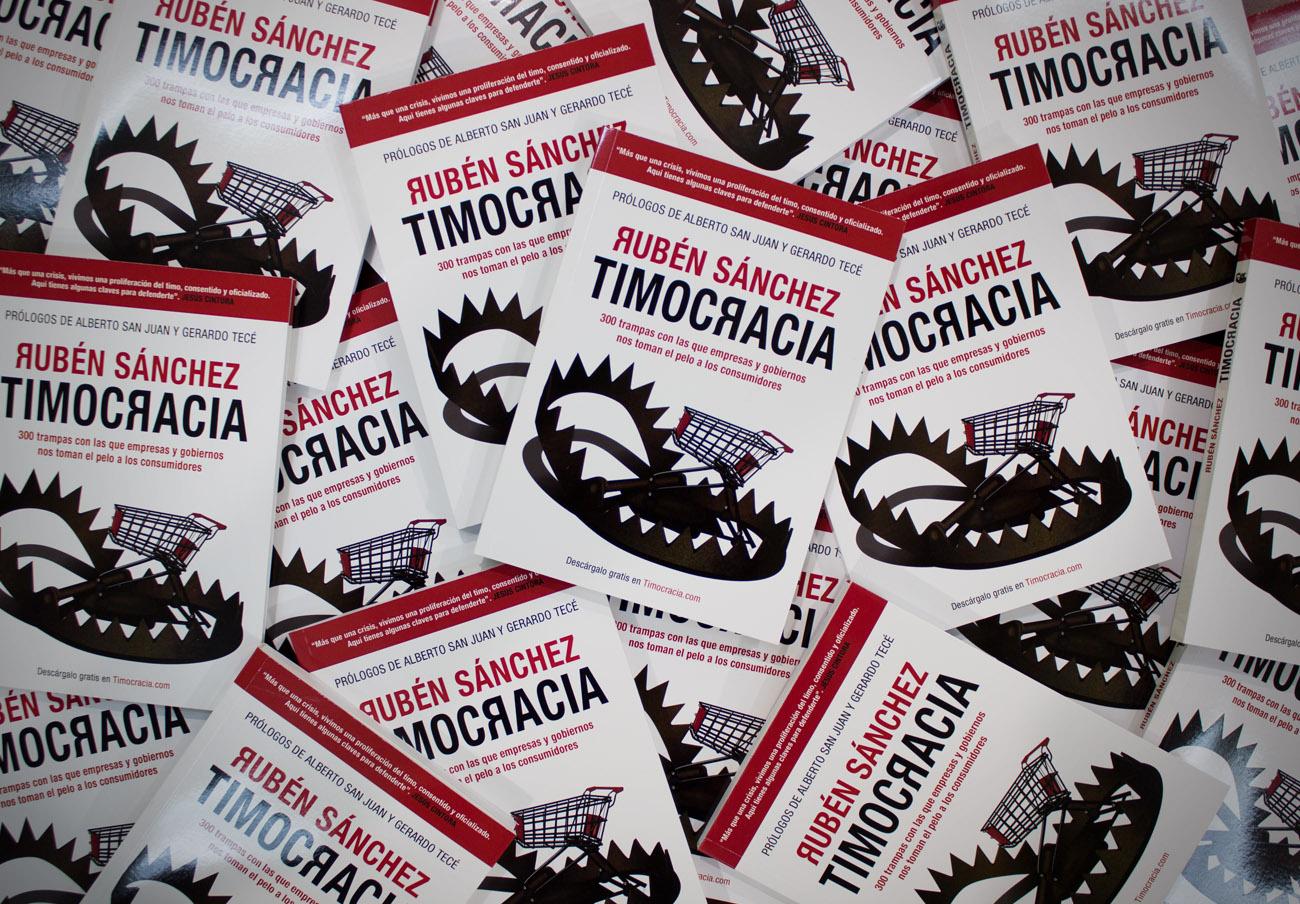 Timocracia, el libro del portavoz de FACUA, supera las 25.000 descargas