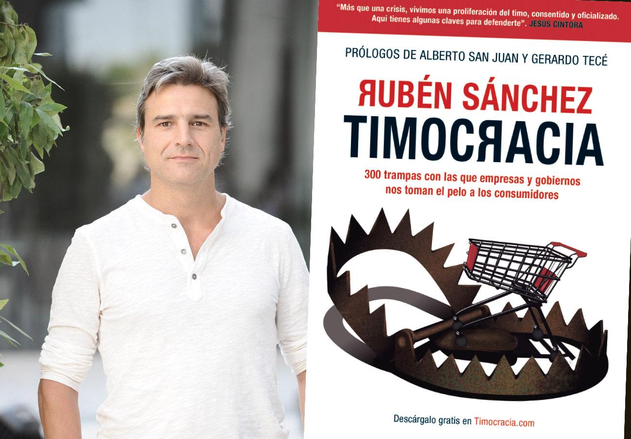 """Alberto San Juan: """"Timocracia es una excelente guía para entender el infierno comercial que nos abrasa"""""""