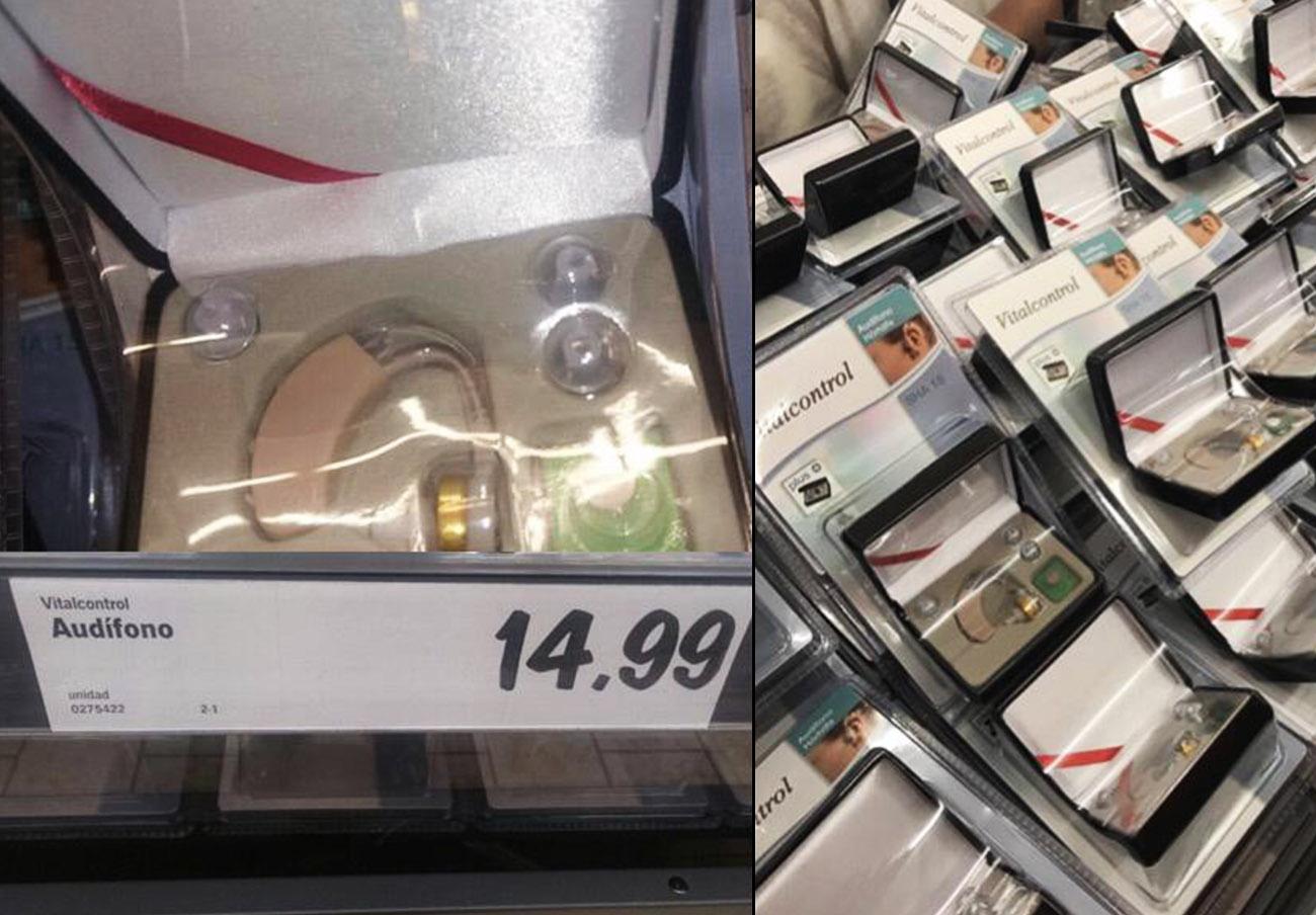 Lidl, obligada a retirar unos falsos audífonos tras la denuncia de FACUA