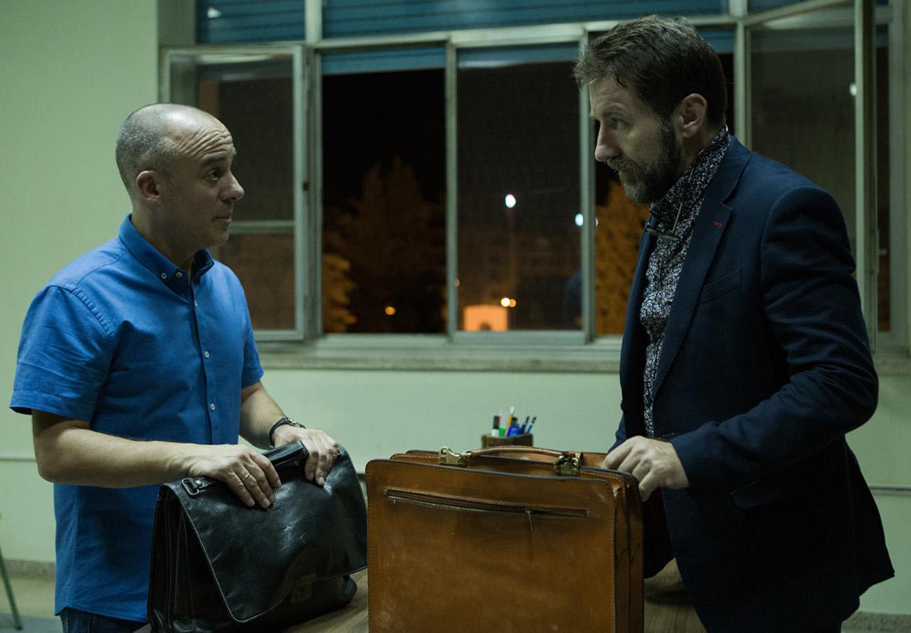 Fotograma de la película El Autor, de Manuel Martín Cuenca.