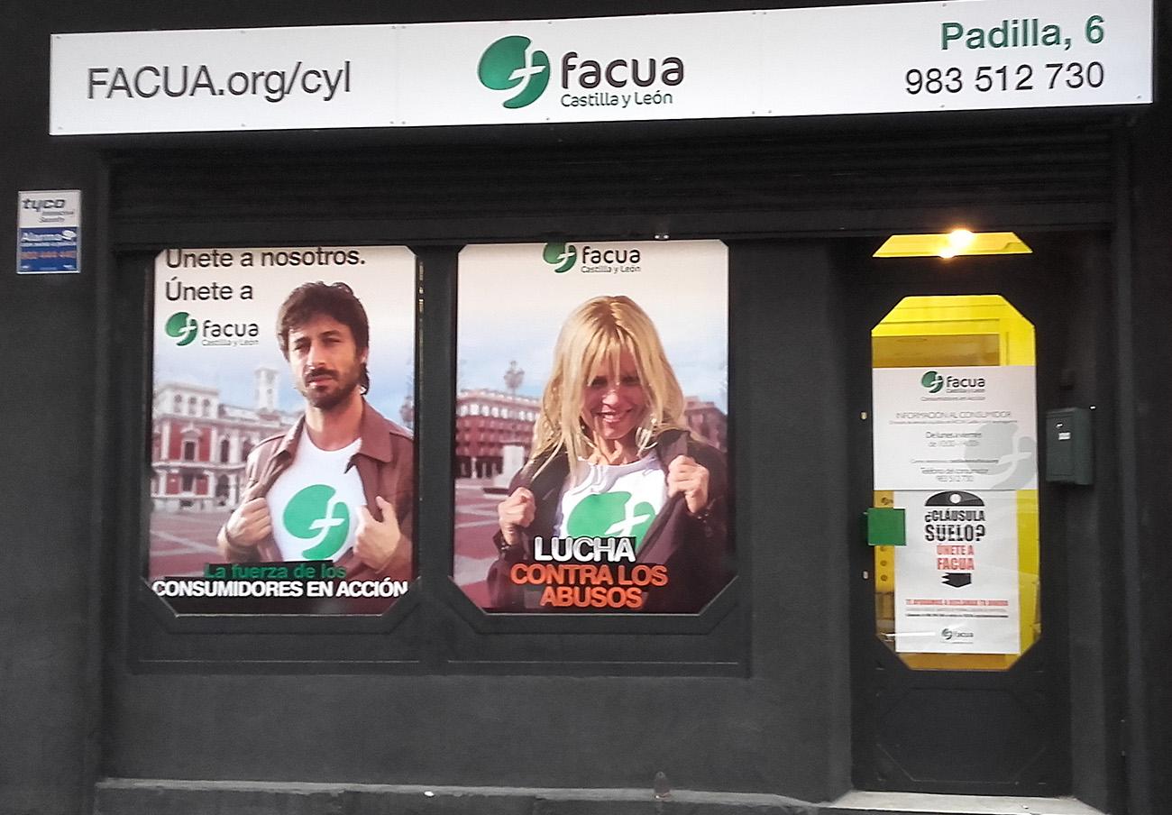FACUA Castilla y León abre nueva sede en Valladolid