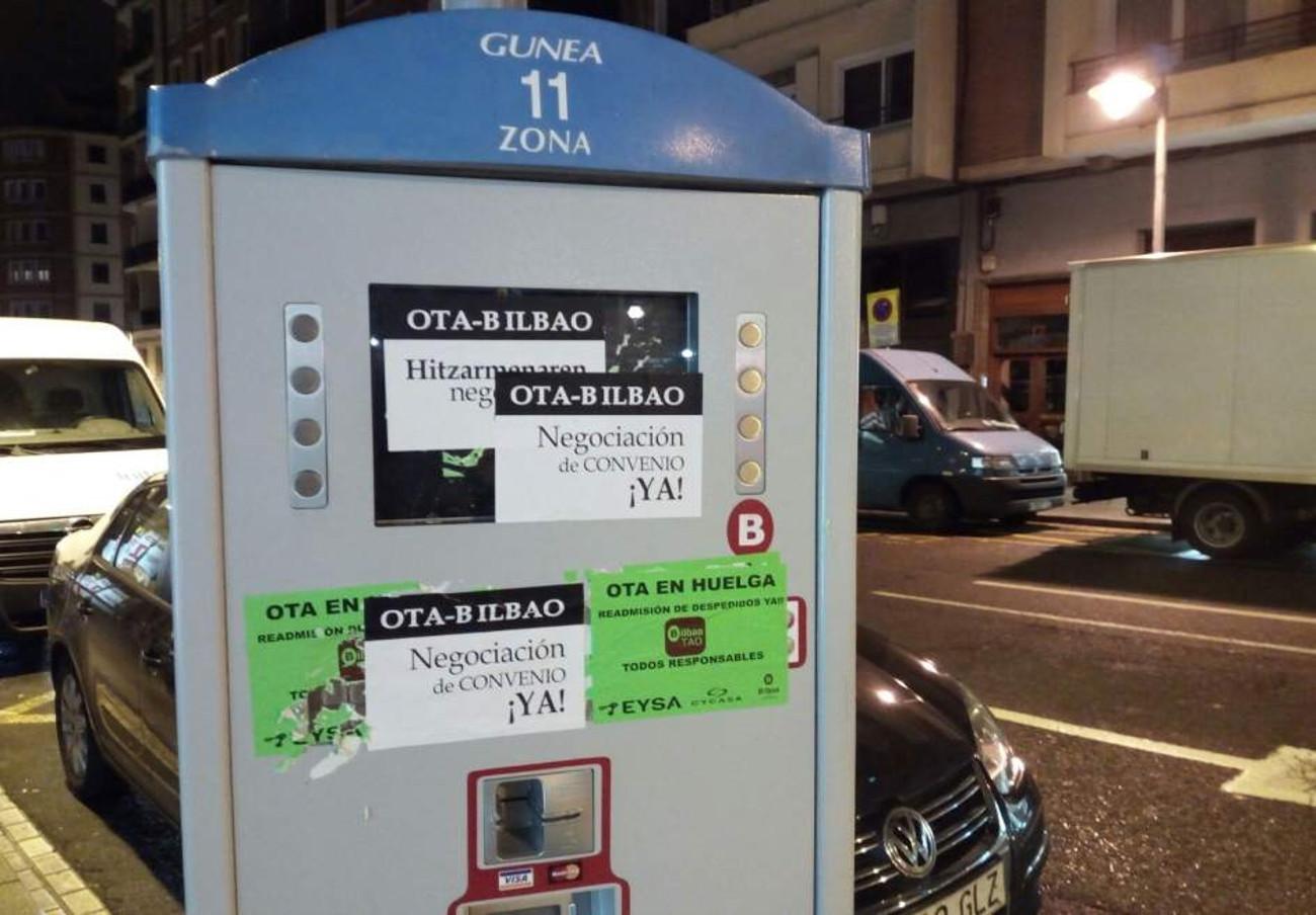 FACUA Euskadi pide al Ayuntamiento de Bilbao que solucione los problemas que presentan los parquímetros