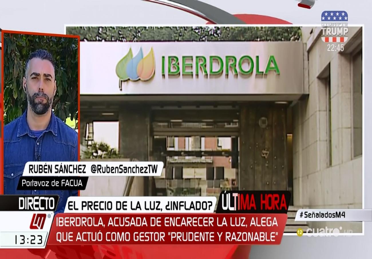 """Rubén Sánchez: """"¿Por qué no se persona el Gobierno en las causas contra Iberdrola, Volkswagen y Ausbanc?"""""""
