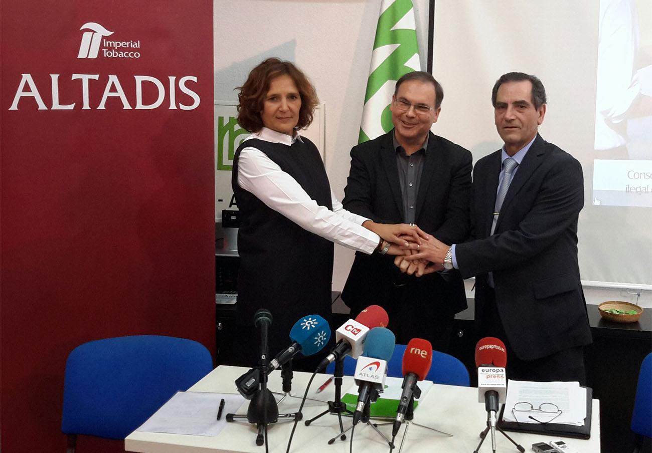 UCA-UCE entregó un premio a Altadis después de que la tabaquera pagase en secreto a su sociedad EdiUCA SL