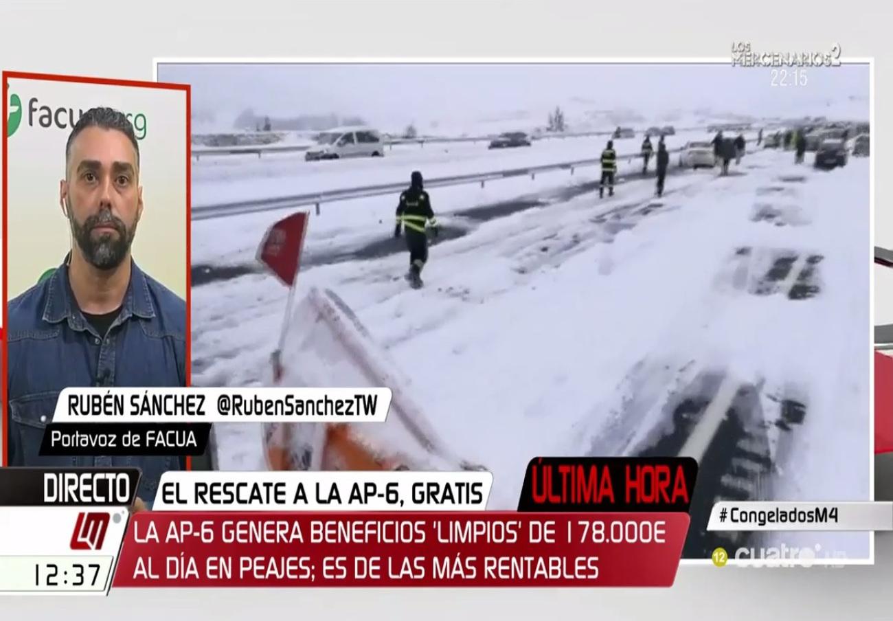 """Rubén Sánchez: """"El Gobierno no ha dicho aún que Iberpistas debe indemnizar a los afectados de la AP-6"""""""