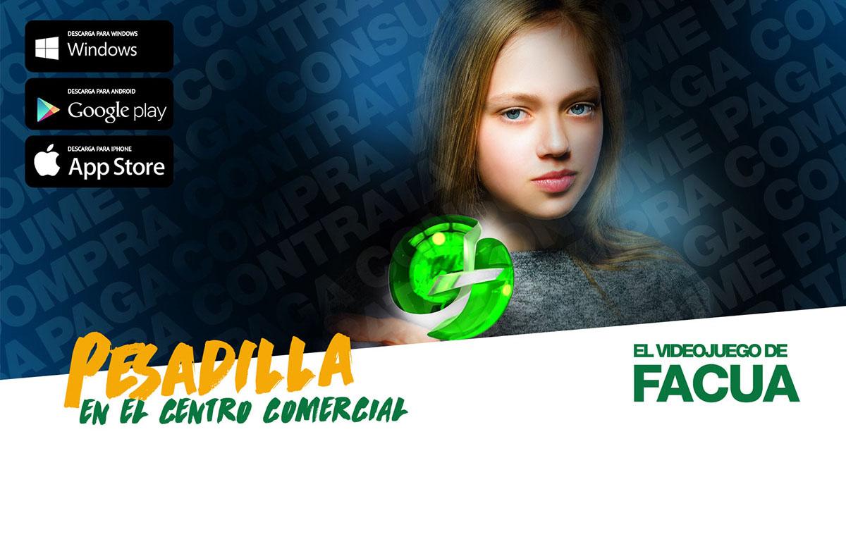 El 20 de febrero será el lanzamiento de 'Pesadilla en el centro comercial, el videojuego de FACUA'