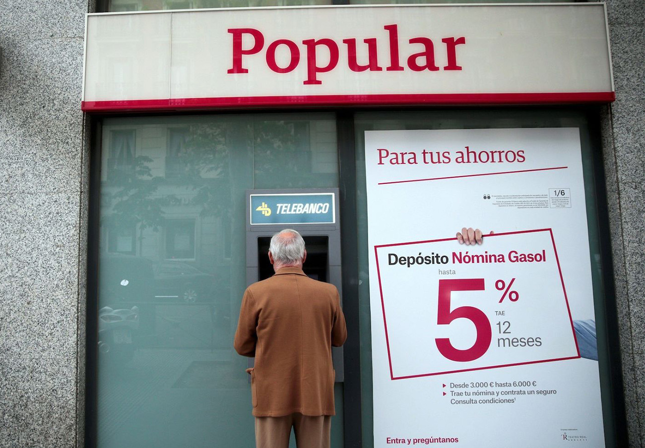 Confirman la multa de 1 millón de euros a Popular por una infracción en la venta de productos financieros