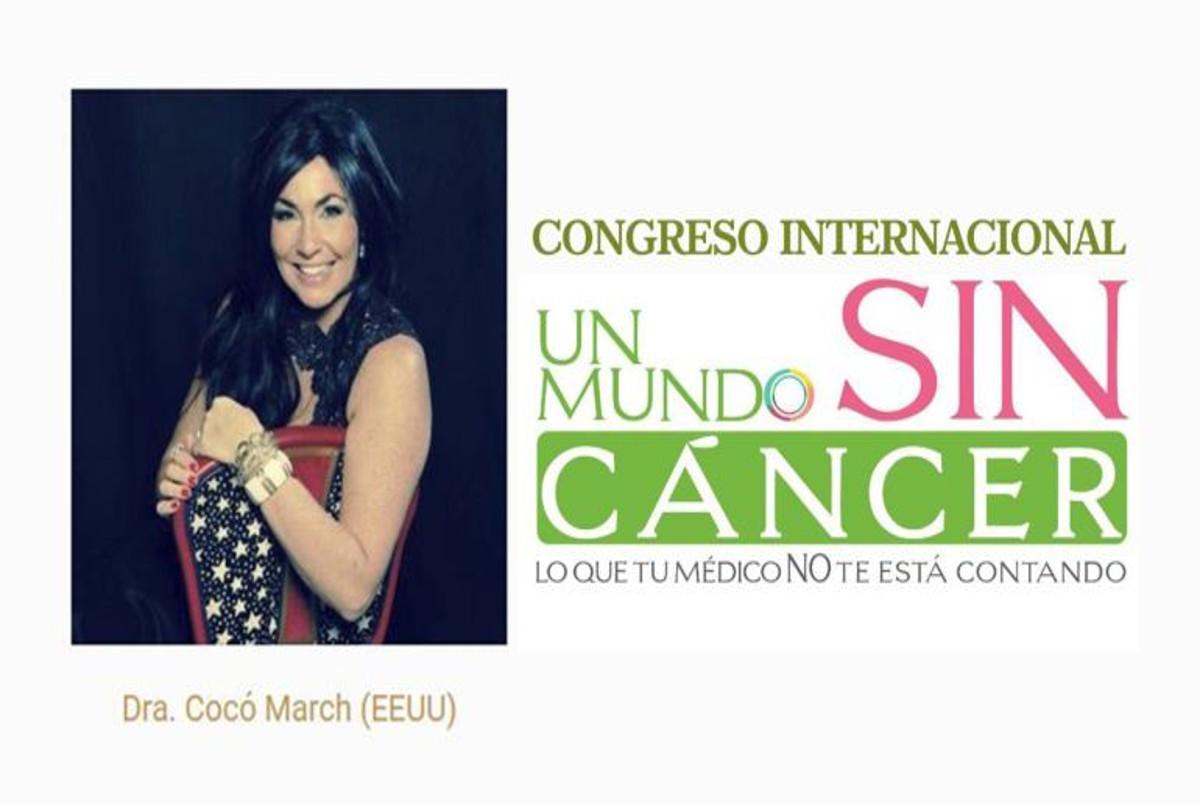 Abren expediente sancionador al congreso 'Un mundo sin cáncer, lo que tu médico no te está contando'
