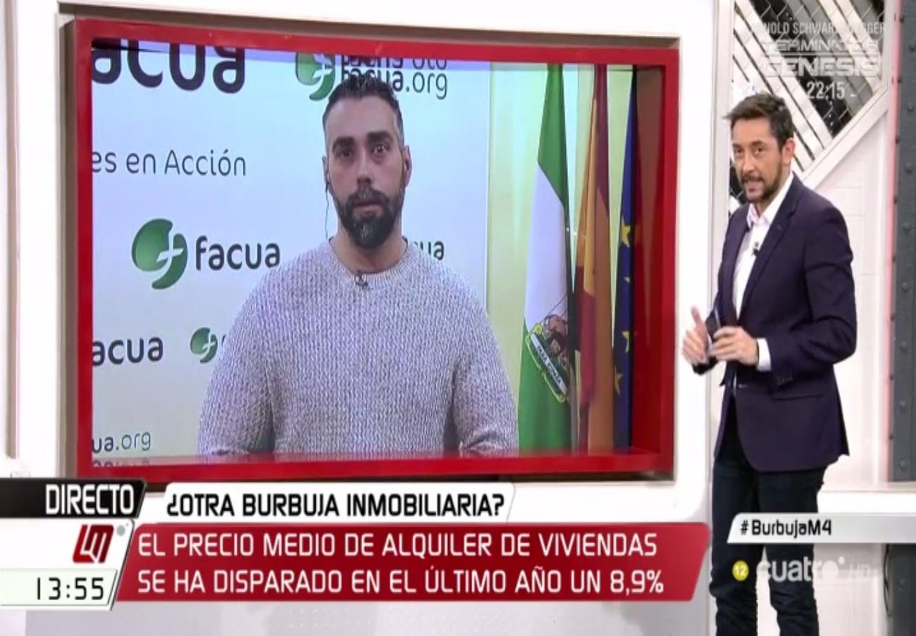 """Rubén Sánchez: """"El Gobierno no ha hecho nada para evitar la especulación inmobiliaria, más bien lo contrario"""""""