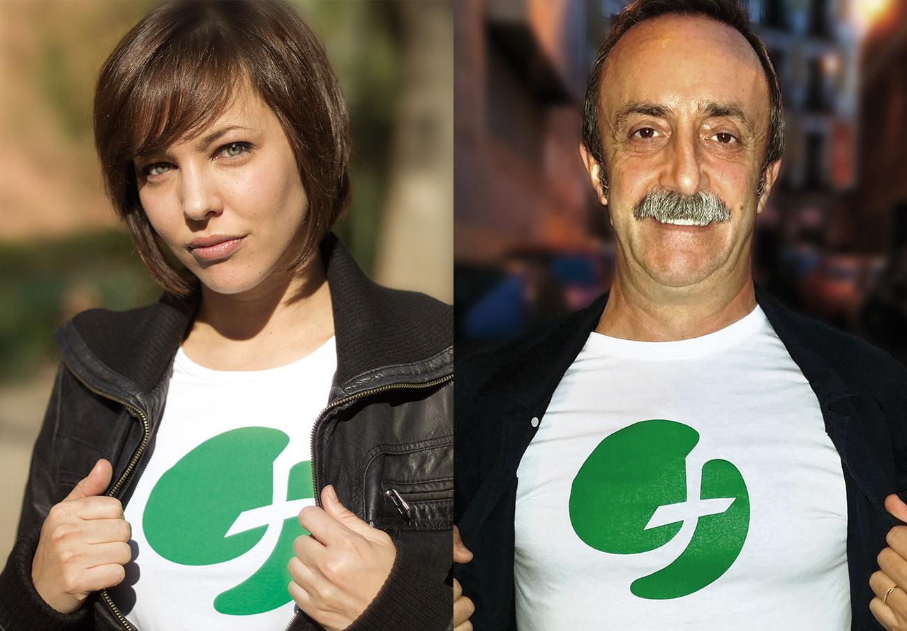 Santi Rodríguez y Lara de Miguel protagonizan la campaña de FACUA en la conmemoración del 15 de marzo