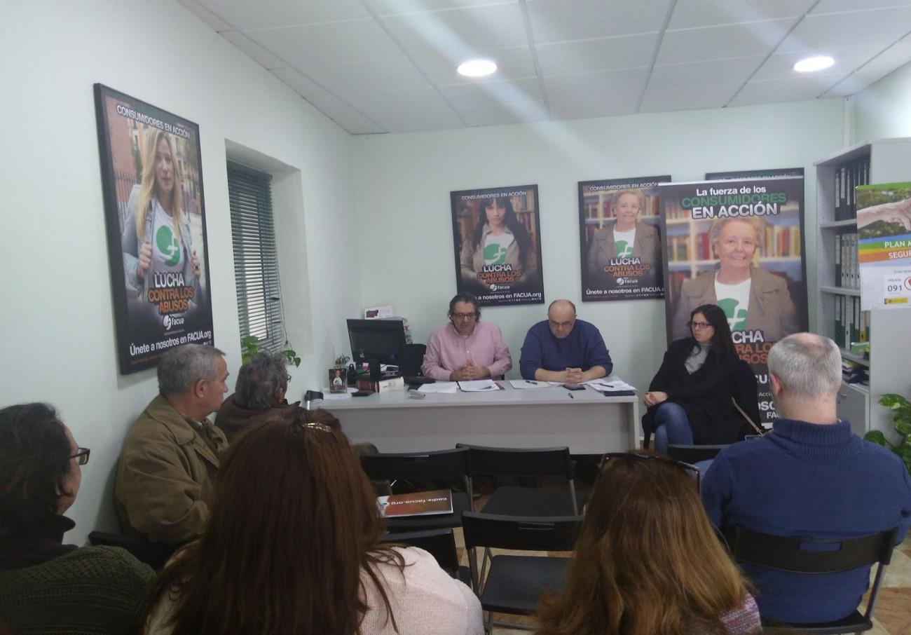 FACUA Cádiz celebra su Asamblea General de Socios