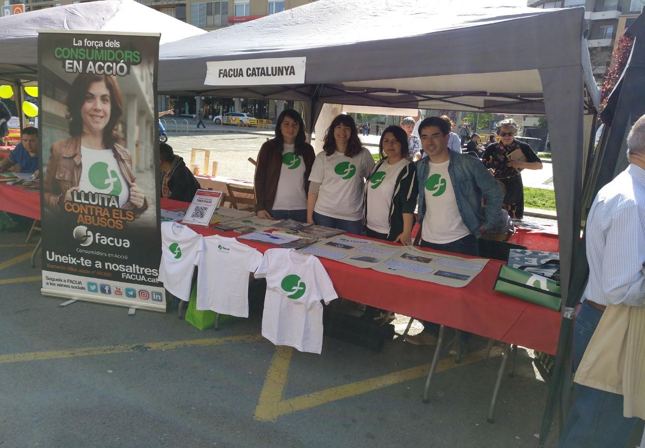 FACUA Catalunya, presente en la 18ª edición de la Feria de Entidades de Voluntariado Social de Girona