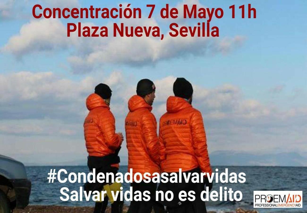 FACUA Sevilla apoya a los tres bomberos sevillanos que se enfrentan a 10 años de cárcel por salvar vidas