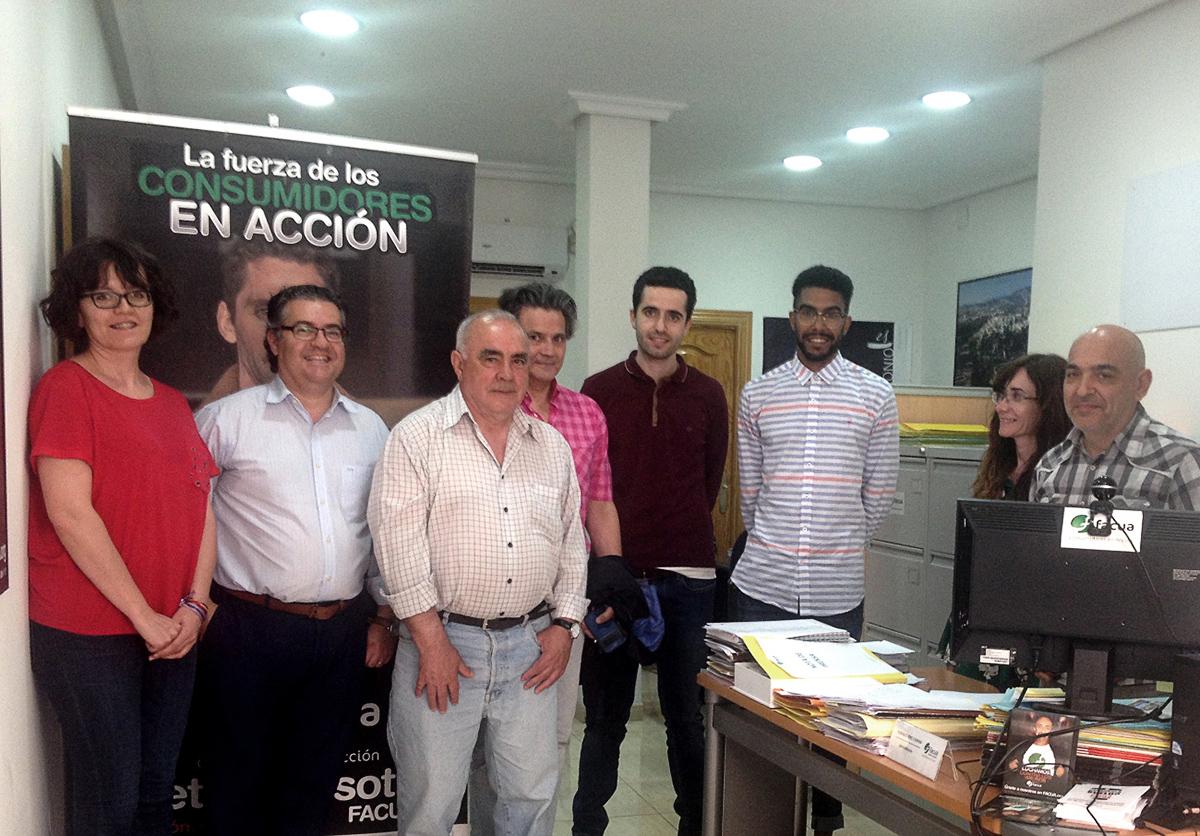 FACUA Castilla-La Mancha el día de su asamblea de socios.