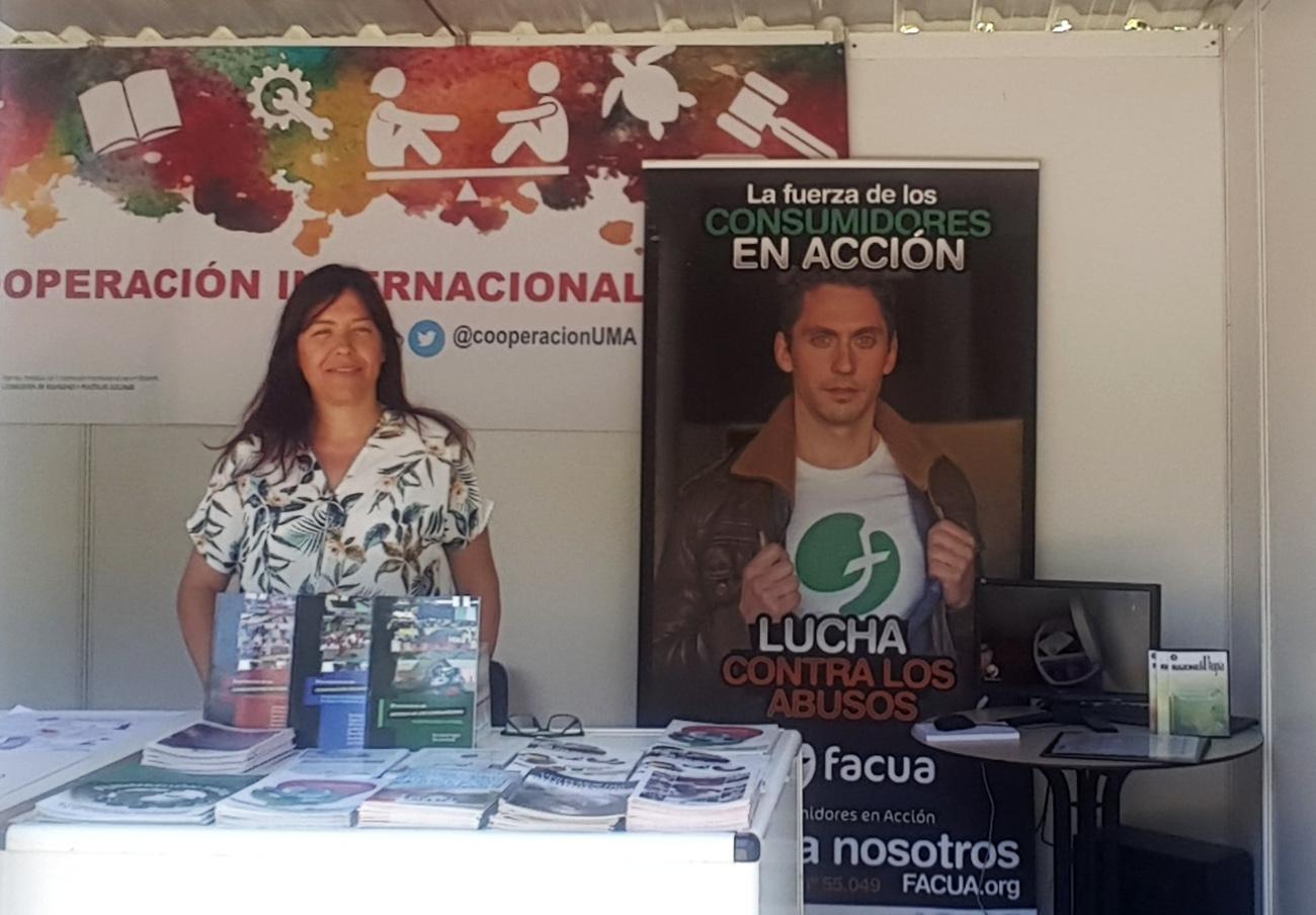 FACUA Málaga participa en la XI Muestra de la Cooperación Internacional y las Migraciones