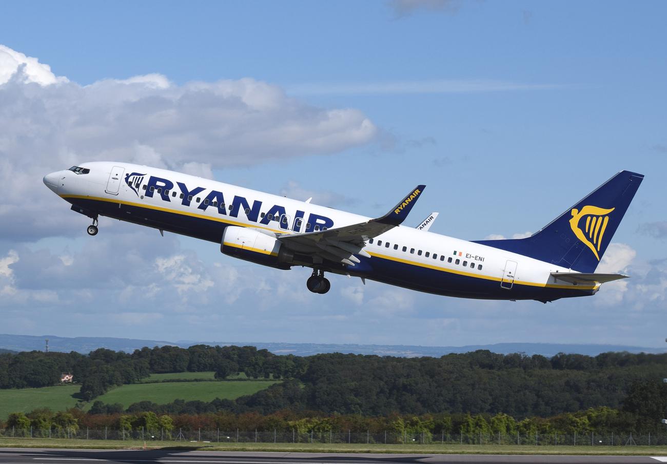 Italia multa a Ryanair con 1,85 millones de euros por los numerosos vuelos que canceló en septiembre 2017