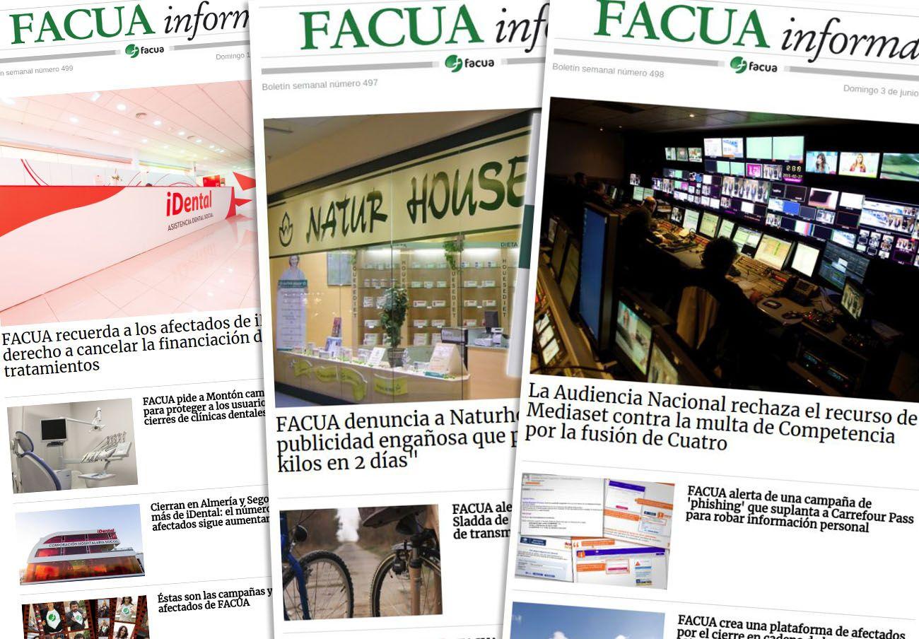 El boletín de noticias semanal de FACUA cumple 500 números y supera ya los 100.000 suscriptores