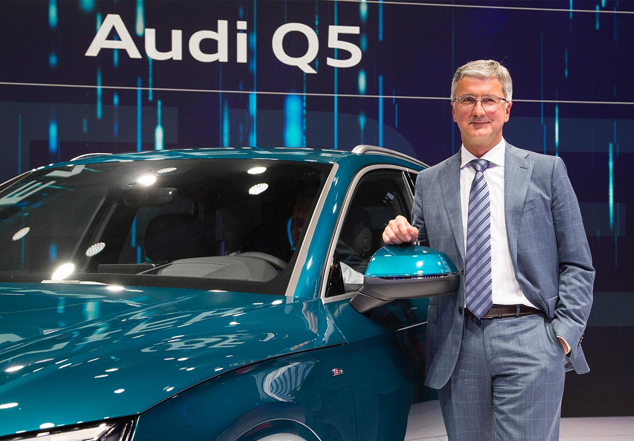 Rupert Stadler, presidente de Audi, detenido en Alemania por el escándalo del dieselgate