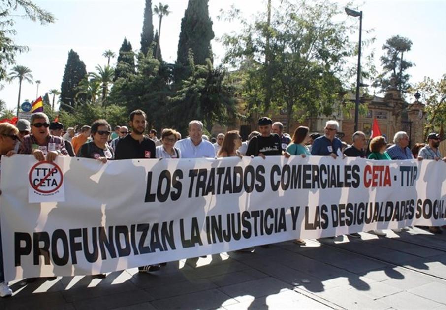 FACUA Sevilla se adhiere al manifiesto 'No a los TCI' en defensa de una economía social y solidaria