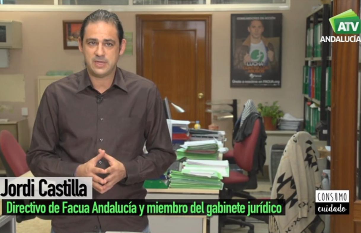 """Jordi Castilla (FACUA): """"Cuando viajamos en transporte público tenemos un seguro de viajero obligatorio, unido al tique"""""""